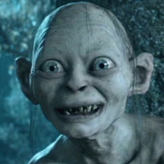 Me = Gollum. Who wouldn't want an 8x10 of this hanging in their home?